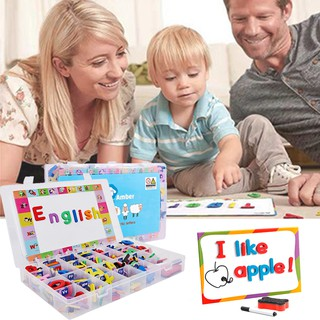 Children's Early Education Toy Letters English Magnetic Stickers