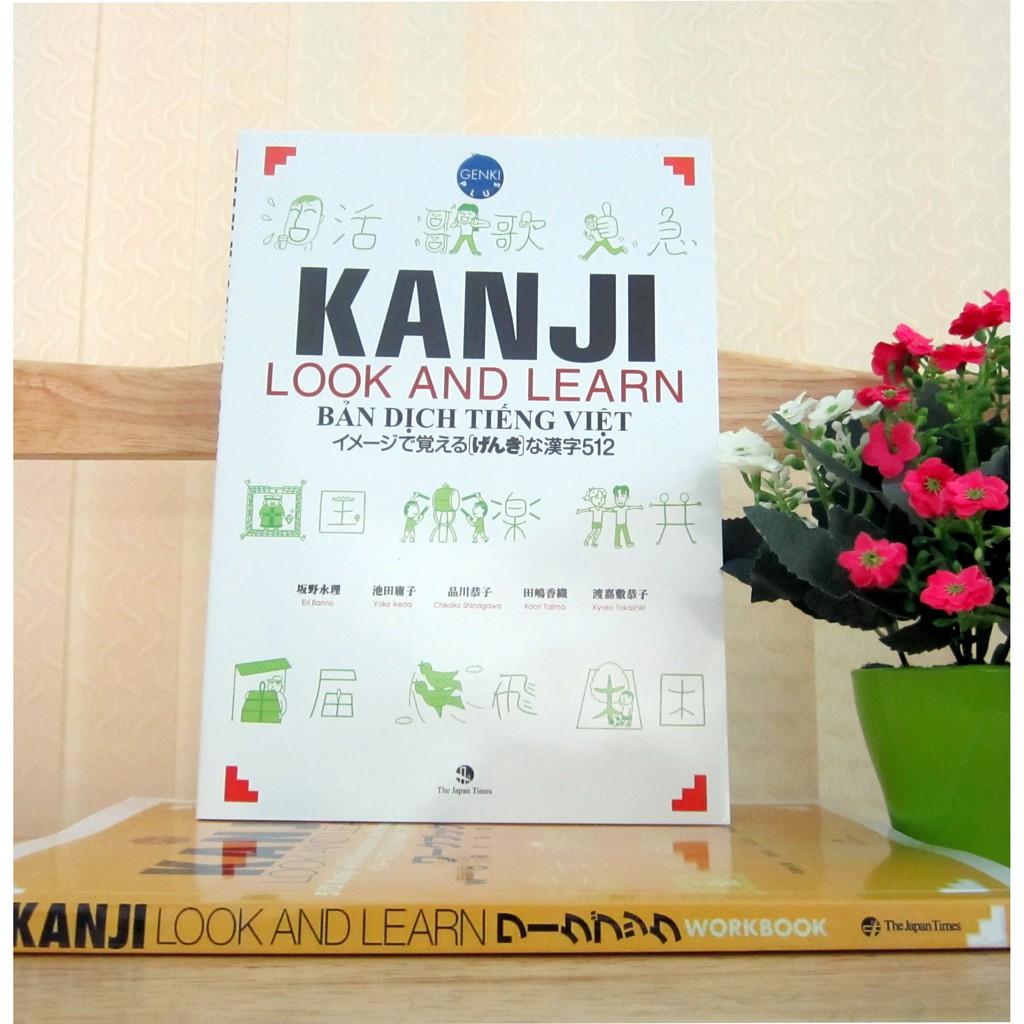 Sách Kanji look and learn N45 - Nhật Việt