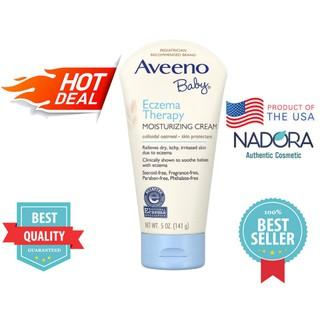 Kem Thoa Cho Bé Aveeno Baby Eczema Therapy Moisturizing Cream - 141g thumbnail