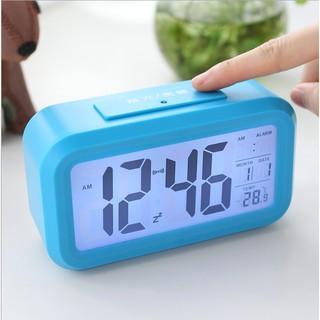 Đồng hồ Alarm FREESHIP Đồng hồ báo thức hình Led, đồng hồ hiện thị cả nhiệt độ phòng,ngày tháng... 4255