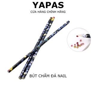 Bút chấm đá nail Yapas gắn đá nhanh, bút đính đá phụ kiện nail chất liệu keo sáp dễ dàng chấm và lấy đá thumbnail