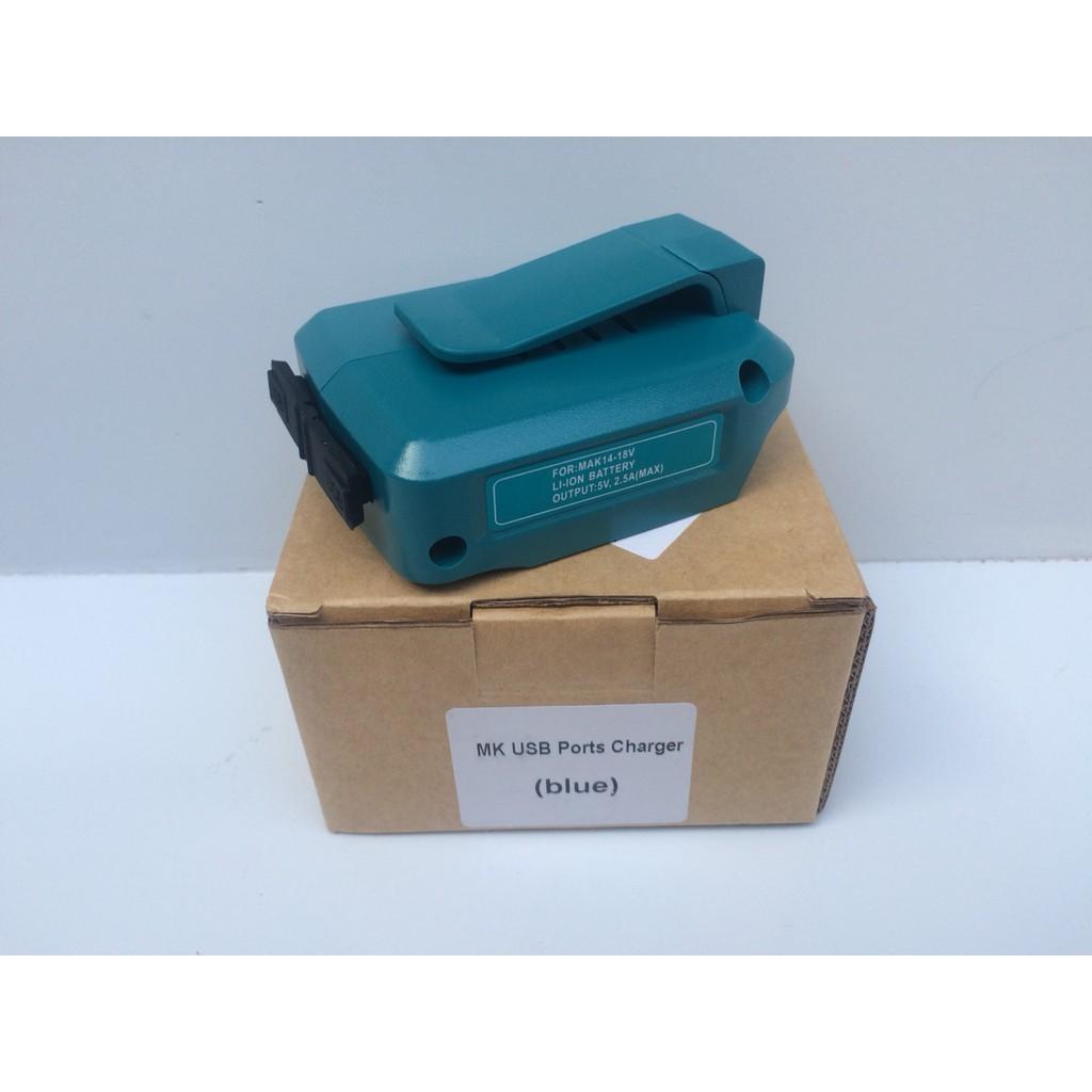 DCSG Bộ chuyển đổi cổng USB sạc điện thoại dùng cho pin Makita 14.4V-18V - 3534051 , 954195489 , 322_954195489 , 550000 , DCSG-Bo-chuyen-doi-cong-USB-sac-dien-thoai-dung-cho-pin-Makita-14.4V-18V-322_954195489 , shopee.vn , DCSG Bộ chuyển đổi cổng USB sạc điện thoại dùng cho pin Makita 14.4V-18V