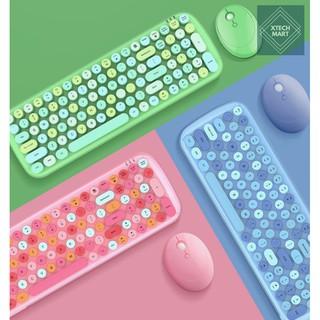Combo bộ bàn phím và chuột không dây MOFii CANDY XR – Hàng chính hãng có sẵn