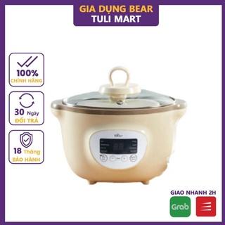 Nồi nấu chậm Bear 1.6L bản quốc tế nấu cháo, ninh, hầm có tính năng hẹn giờ và giữ nhiệt Gia dụng Bear Tuli Mart thumbnail