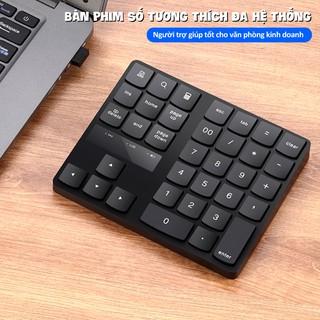 Bàn phím số mini gồm 35 phím cơ bản, đa năng tiện ích, dùng cho máy tính tiền,laptop, smartphone, bảo hành 12 tháng M533
