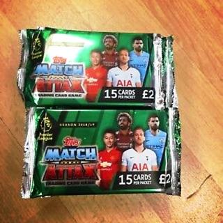 Pack thẻ cầu thủ/thẻ bóng đá Match Attax Premier League 2018/2019 chính hãng