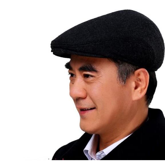 Mũ Beret Nam ( Trung Niên) chất vải Nỉ
