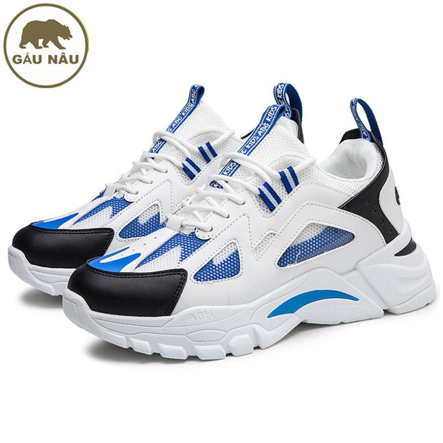 Giày sneaker GN553 [ Nhập MANDFS01 giảm 10% ] đế độn thời trang Gấu Nâu chuyên giày nam