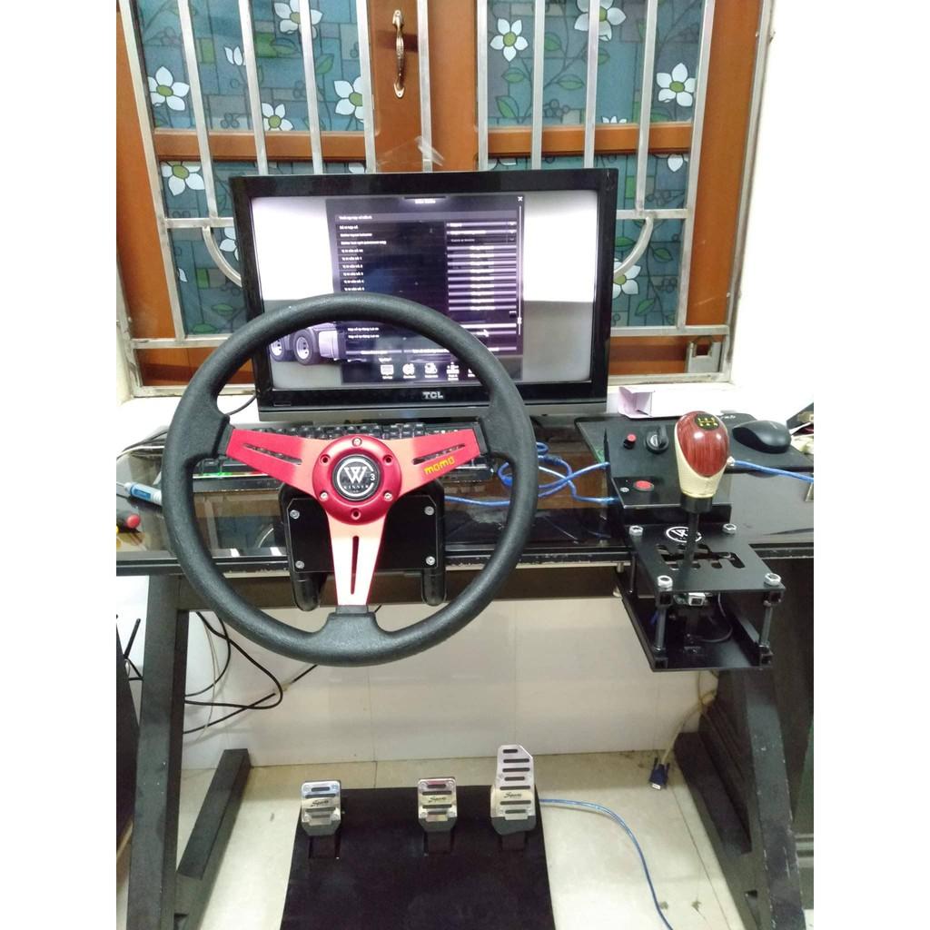 Vô lăng chơi game đua xe Winner