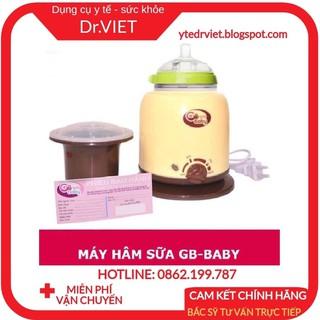 MÁY HÂM NÓNG SỮA - HÂM CHÁO - TIỆT TRÙNG BÌNH SỮA CHO BÉ GB BABY HÀN QUỐC - hâm nóng, giữ nóng và tiệt trùng sữa an toàn thumbnail