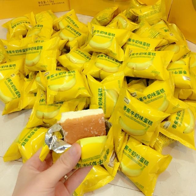 Combo 2 hộp bánh kem chuối 320k