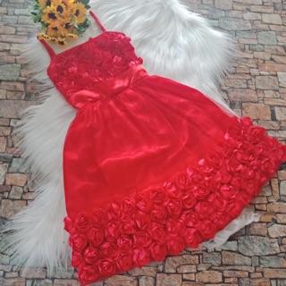 Đầm 3 d cho bé ( Minh châu)