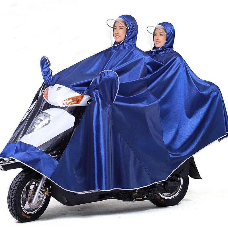 Yêu ThíchÁo mưa che đôi cho người ngồi xe máy độc đáo