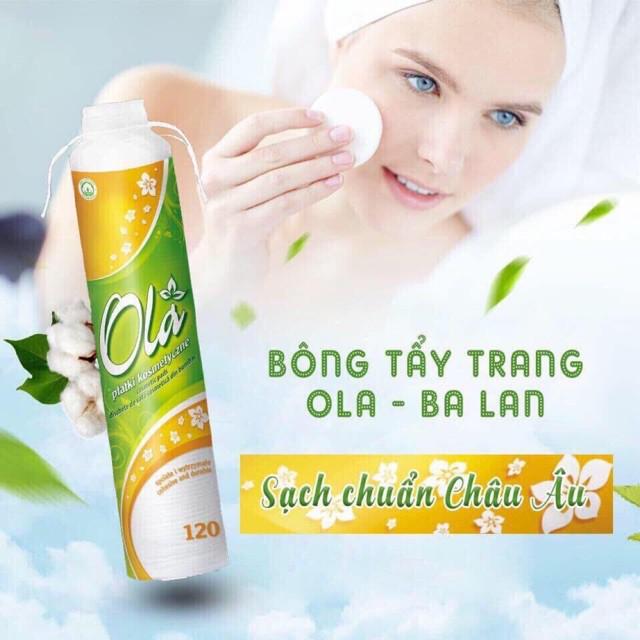 Bông tẩy trang Ola 120 miếng Cotton Pads (Ba Lan) - Hàng nhập khẩu | Shopee  Việt Nam