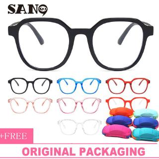 Fashion Children Eyeglasses Anti-blue light Children's irregular Glasses Frame Girls&Boys