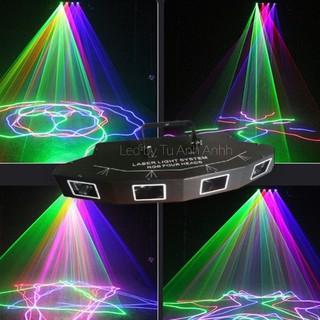 Laser quét 7 màu 4 cửa