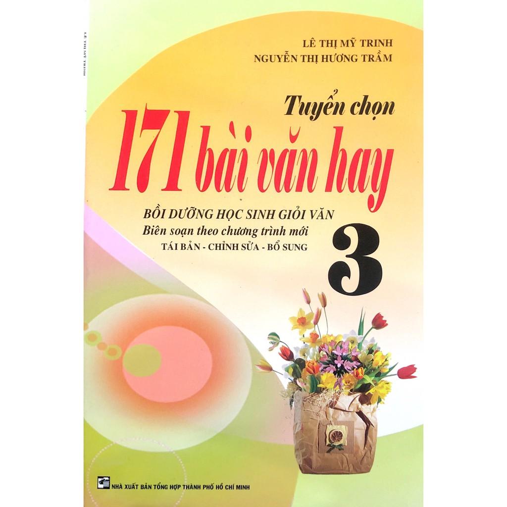 Sách - Tuyển Chọn 171 Bài Văn Hay Lớp 3