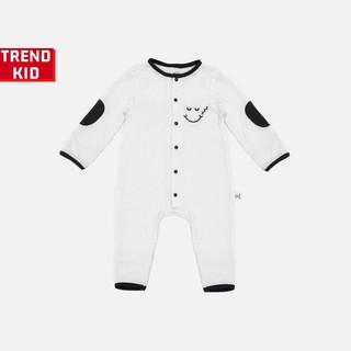 Sleepsuit cho bé trai bé gái từ 5 đến 19kg màu trắng BABYWANT thumbnail