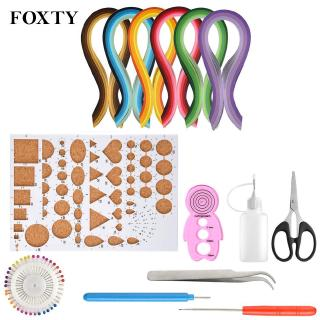 Quilling Strips Kit Paper Strip Quilling Strips 9 Pcs/Set All For DIY Great
