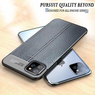 Vỏ điện thoại bằng da PU chống va đập cho iPhone 12 MIni 11 Pro X XS Max XR 8 7 6 6s Plus SE 2020 Ốp lưng silicon mềm TPU thiết kế Ốp lưng Coque