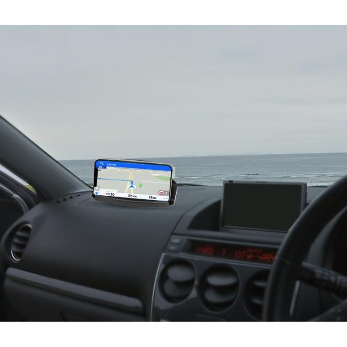 Giá đỡ điện thoại sáng tạo mới HUD - Tích hợp sạc không dây, phản chiếu màn hình điện thoại lên gương tiện lợi - CAR09