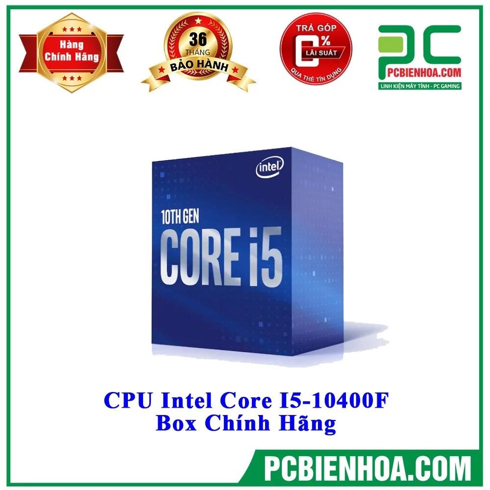 CPU Intel Core i5 10400F  – Socket Intel LGA 1200 New Box
