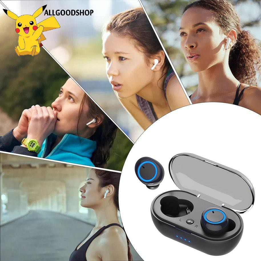 [COD]Tai Nghe TWS Không Dây Kebidumei Y50 Hỗ Trợ Bluetooth 5.0