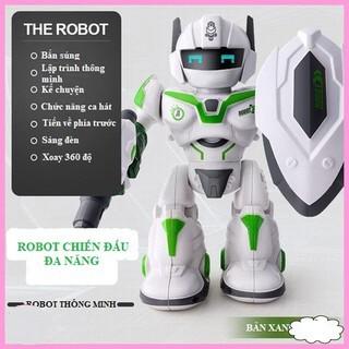 Đồ Chơi Robot Chiến Đấu Thông Minh, Xoay 360 Độ (Hàng Siêu Cấp)