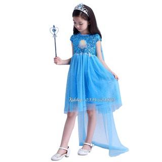 Váy Đầm Elsa Mẫu 2020 Cho Bé Yêu 🎃 Đầm Công Chúa Elsa 🎁