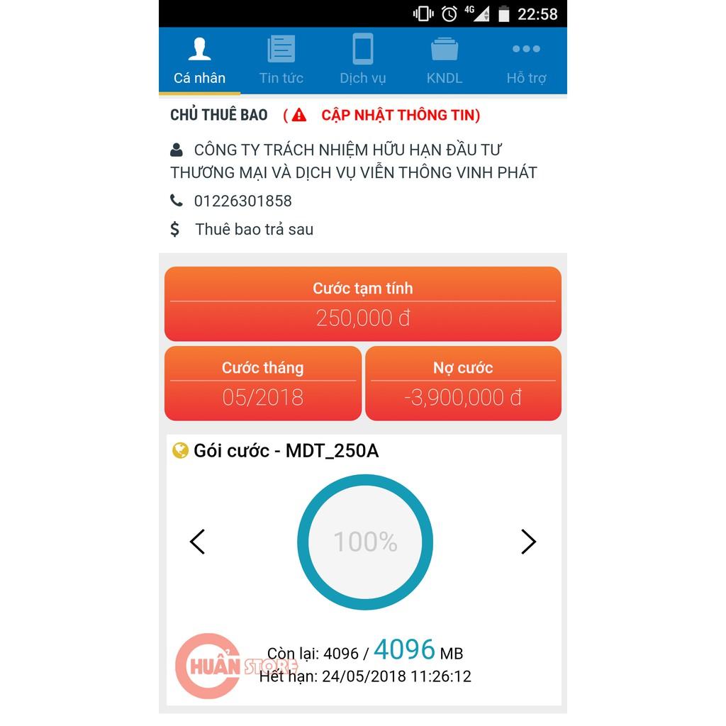 Hình ảnh [ELMTOD giảm 30k] Sim 4G Mobifone MDT250A trọn gói 1 năm không nạp tiền-2