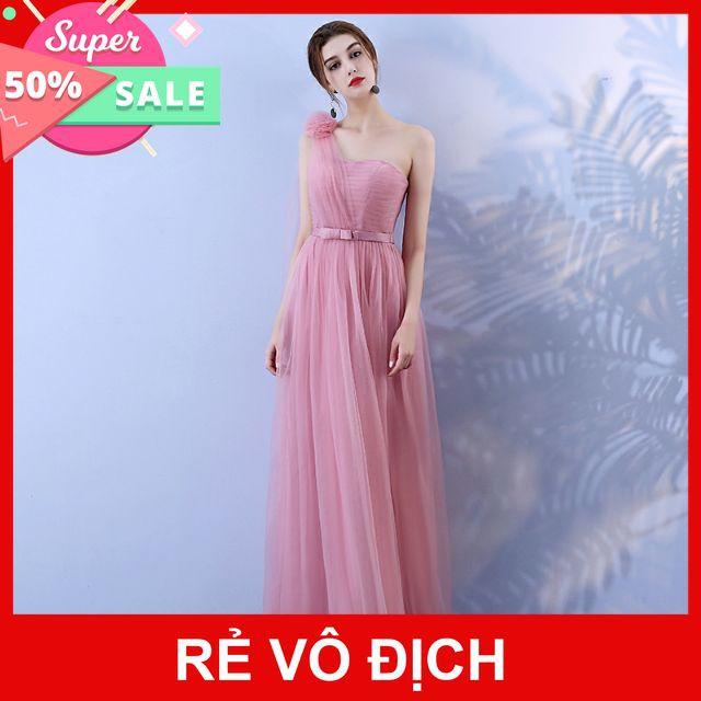 SALE - OFF Đầm dạ hội lệch vai Quảng Châu cao cấp cực xinh
