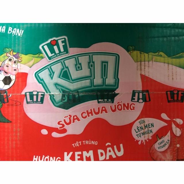 Thùng sữa chua Kun 110 ml
