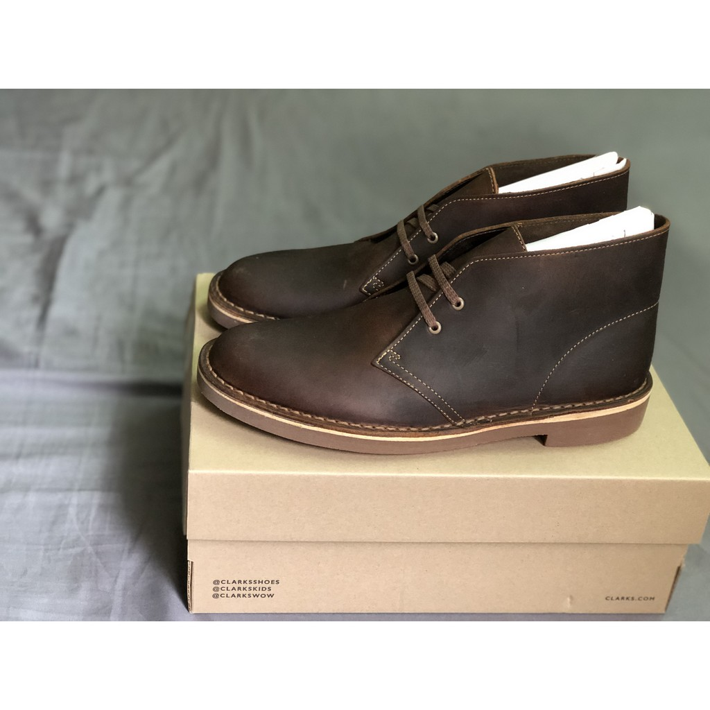 Giày chukka boots Bushacre 2 Beeswax Leather
