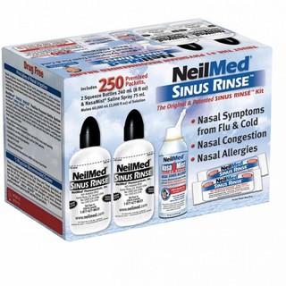 Bộ sản phẩm nước muối rửa mũi (nước muối sinh lý) Neilmed Sinus Rinse 250 gói thumbnail