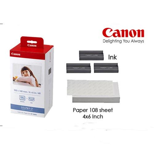 GIẤY IN ẢNH NHIỆT CANON KP108 DÙNG CHO CP 900, CP910,CP1000,CP1200