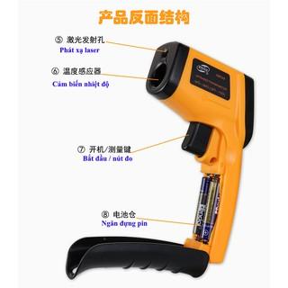 Máy đo nhiệt kế hồng ngoại sử dụng cho công nghiệp