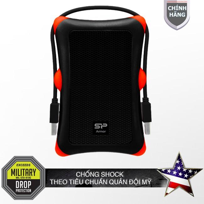 Ổ cứng di động chống sốc 1TB / USB 3.1 A30 Silicon Power Armor chống sốc