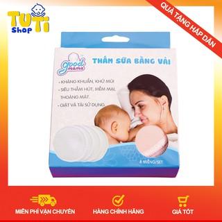 BIG SALE Miếng Lót Thấm Sữa Good Mama Hộp 8 Miếng Giặt Được thumbnail