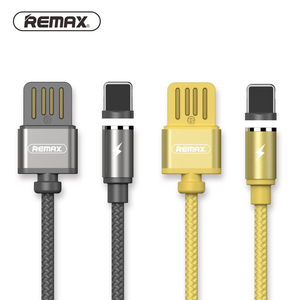 Cáp Lightning nam châm Remax RC-095i ✓Sạc nhanh iPhone iPad Chính Hãng ✓ Có Đèn LED