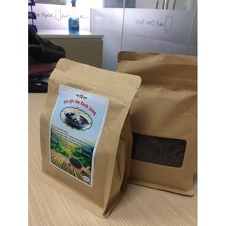 TRÀ ĐẬU ĐEN XANH LÒNG ORGANIC 500G túi giấy thân thiện môi trường