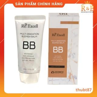 BB Cream Re:Excell Multi Gradation Blemish Balm Hàn Quốc, kem nền, kem lót, che khuyết điểm, chống nắng SPF50+/ PA+++