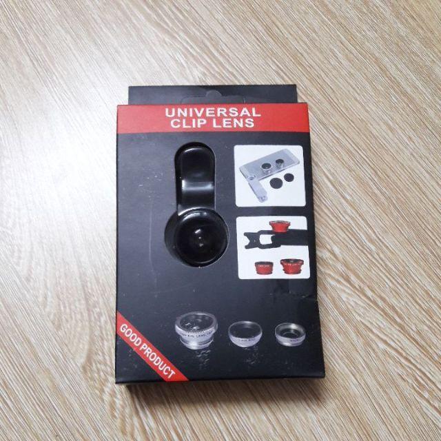 Bộ 3 lens cho điện thoại 84 nhập khẩu