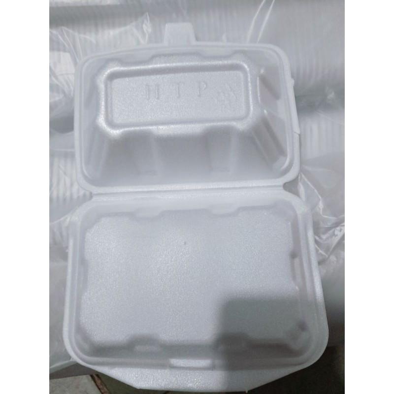 Hộp Xốp đựng cơm, thực phẩm 1 cây (~150 hộp)