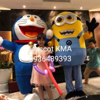Quần áo hoá trang Mascot Minion – Đồ chơi nhân vật hoạt hình, nhập vai