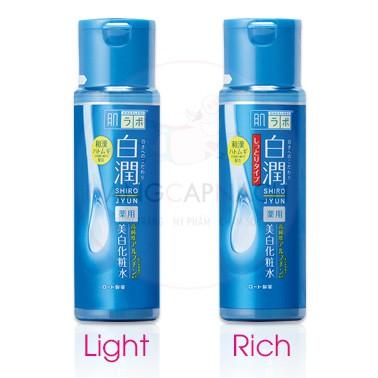 Nước Hoa Hồng Hada Labo Shirojyun Medicated Whitening Lotion 170ml