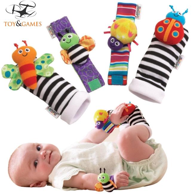 4pcs Baby Cartoon Shape Socks