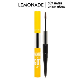 Chì kẻ mày 2 đầu Lemonade Want It Got It Dual Eyebrow 2.75g