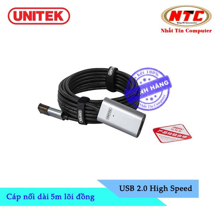 Cáp USB nối dài 2.0 Unitek Y-271 dài 5m lõi đồng - hỗ trợ tương thích ngược - 2527712 , 459558796 , 322_459558796 , 283000 , Cap-USB-noi-dai-2.0-Unitek-Y-271-dai-5m-loi-dong-ho-tro-tuong-thich-nguoc-322_459558796 , shopee.vn , Cáp USB nối dài 2.0 Unitek Y-271 dài 5m lõi đồng - hỗ trợ tương thích ngược