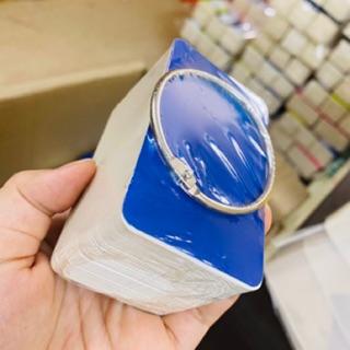 [giao 2h]Bộ flashcard trắng 100 thẻ giấy ivory cao cấp 5x8cm ,kèm khoen thumbnail
