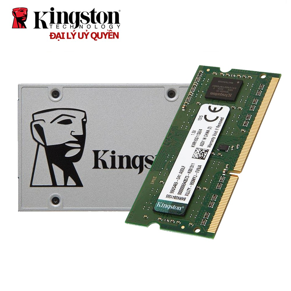 Combo ổ cứng SSD 120GB NOW A400 Kingston + RAM...